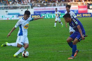 Dàn sao U23 Việt Nam mờ nhạt, HAGL bị cầm hòa sân nhà