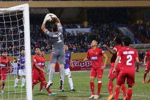 BXH, kết quả vòng 1 V.League 2018: Hà Nội FC thắng nhọc