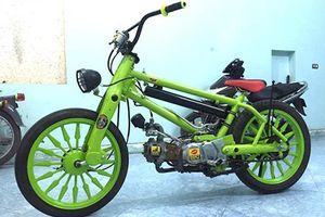 Dân chơi Sài Gòn độ Honda Super Cub thành 'xe ruồi'