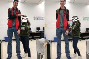 Cặp đôi đũa lệch: Cô gái Việt yêu chàng trai Algerie cao hơn 83cm