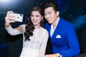 Ngọc Tình xuất hiện như 'nam thần' bên cạnh người đẹp Nguyễn Thị Thành