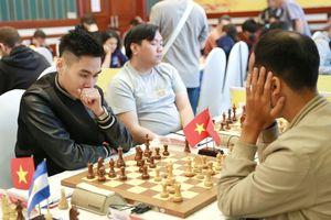 Kỳ thủ Trần Tuấn Minh chơi khởi sắc ở giải cờ vua quốc tế HDBank