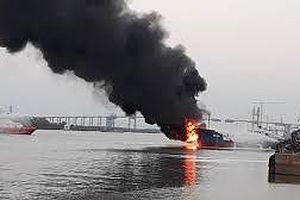 Thủ tướng có công điện chỉ đạo xử lý vụ cháy tàu chở dầu tại Hải Phòng