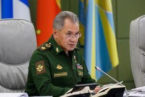 Bộ trưởng QP Nga tiết lộ số vũ khí được thử nghiệm ở Syria