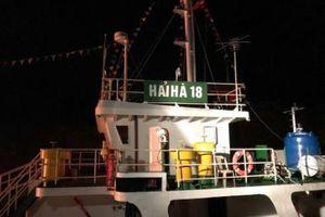 Cảng Hải Phòng điều động phương tiện tham gia chữa cháy tàu Hải Hà 18