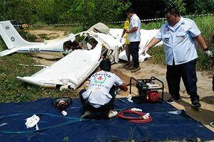 Rơi máy bay huấn luyện ở Thái Lan, 2 người thiệt mạng