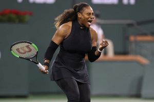 Serena Williams tái xuất ấn tượng tại Giải quần vợt Indian Wells 2018