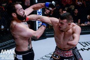 Võ sĩ cụt tay Nick Newell và hoài bão với giải MMA lớn nhất hành tinh