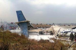 Vụ tai nạn máy bay tại Nepal: Máy bay đã bốc cháy, chưa rõ thương vong