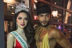 KHOẢNH KHẮC HIẾM: Hoa hậu Hương Giang Idol đọ sắc với 'thánh nam catwalk' Philippines