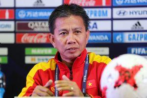 Thông điệp của HLV Hoàng Anh Tuấn: 'Các cầu thủ hãy lao động chăm chỉ'