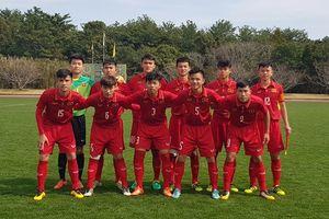 Thua sát nút Indonesia, U16 Việt Nam về nhì giải giao hữu ở Nhật Bản