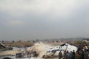 Nepal: Máy bay Bangladesh bốc cháy ngùn ngụt và rơi tại Thủ đô Kathmandu