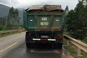 Tài xế xe tải vi phạm còn... đe dọa CSGT