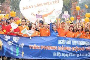 Hơn 5.000 tham gia ngày hội 'Tiên phong hành động vì cộng đồng'