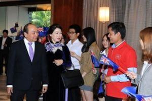 Thủ tướng Nguyễn Xuân Phúc bắt đầu chuyến thăm chính thức New Zealand