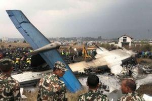 Máy bay Bangladesh gặp nạn tại Nepal, ít nhất 49 người thiệt mạng