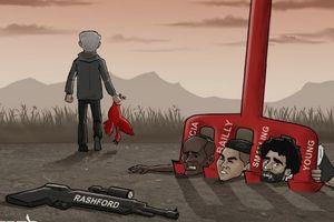 Hí họa Salah, Mane bất lực trước đinh ba phòng ngự của Mourinho