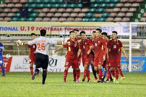 Lịch thi đấu, kết quả và BXH giải U19 quốc tế 2018