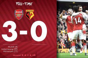 Cán mốc 1000 bàn trên sân nhà, Arsenal thắng nhàn trước Watford
