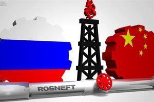 Trung Quốc thâu tóm cổ phần tập đoàn dầu khí Nga