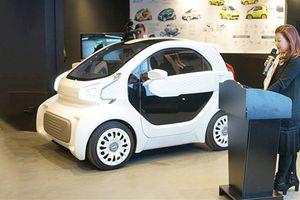 Ôtô điện đầu tiên được 'in' 3D