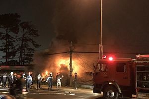 Cháy nhà ở TP Đà Lạt khiến 5 người thiệt mạng