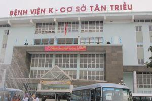 Hà Nội: Đình chỉ công tác 2 bảo vệ đánh người ở bệnh viện K