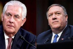 Toàn cảnh vụ Ngoại trưởng Mỹ Rex Tillerson bất ngờ bị sa thải