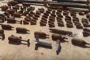 Quân Syria chiếm giữ kho vũ khí lớn IS tại Deir Ezzor