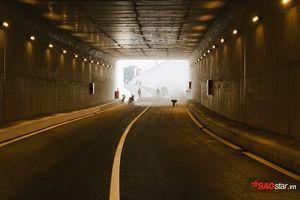 Cận cảnh hầm chui hơn 500 tỷ đồng trước giờ thông xe