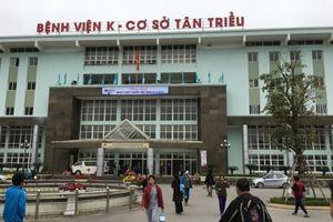 Đình chỉ công tác hai bảo vệ bệnh viện K Tân Triều hành hung người nhà bệnh nhân