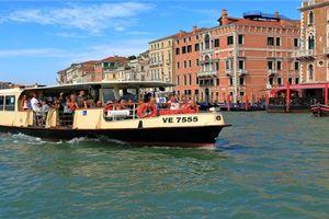 Thiên đường Venice: Tàu buýt sẽ chạy bằng dầu ăn đã qua sử dụng