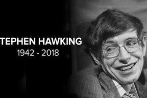 Nhà khoa học đại tài Stephen Hawking qua đời ở tuổi 76