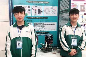 Học sinh Trường THPT Uông Bí đoạt giải Cuộc thi KHKT Quốc gia 2018