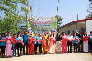 Hà Giang: Khánh thành điểm trường Xà Chải do các nhà hảo tâm hỗ trợ xây dựng