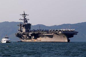 Tàu sân bay USS Carl Vinson tập trận gì ở Biển Đông cùng Nhật Bản?