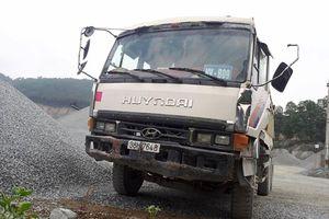 Tai nạn tại mỏ đá khiến 1 người chết, 2 người bị thương