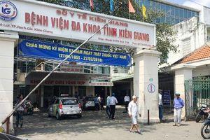 Kiên Giang: Cảnh cáo bác sĩ 'đuổi' bệnh nhân về nhà