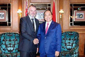 Sớm nâng quan hệ Việt Nam - New Zealand lên Đối tác chiến lược