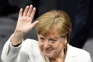 Bà Merkel chính thức là Thủ tướng Đức nhiệm kỳ 4