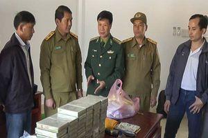Điện Biên: Triệt phá vụ vận chuyển 60 bánh hê rô in, bắt giữ 3 đối tượng người Lào