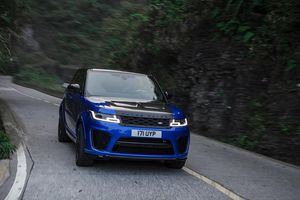Range Rover Sport SVR vượt 99 khúc cua của núi Thiên Môn