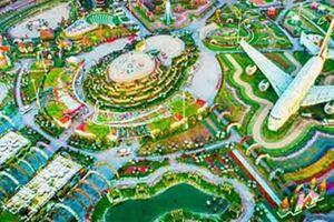 Trố mắt với độ hoành tráng của vườn hoa khủng nhất thế giới tại xứ nhà giàu Dubai