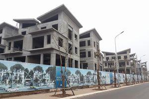 DA Khai Sơn Hill Long Biên: Hàng chục căn biệt thự xây dựng không phép
