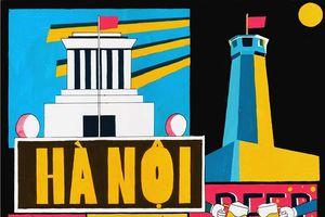 Sài Gòn-Hà Nội-Đà Nẵng siêu dễ thương trong mắt người trẻ mê đồ họa