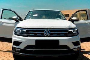 Lô xe Volkswagen Tiguan Allespace 2018 đầu tiên vừa cập cảng Việt Nam