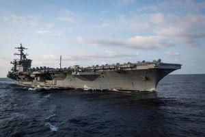 Tàu sân bay Carl Vinson tập trận ở Biển Đông sau khi rời Việt Nam