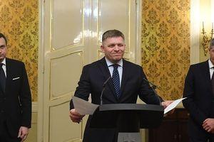 Chùm ảnh: Thủ tướng Slovakia sẵn sàng từ chức để xoa dịu chính trường