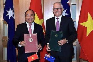 Hình ảnh hoạt động của Thủ tướng Nguyễn Xuân Phúc tại Australia